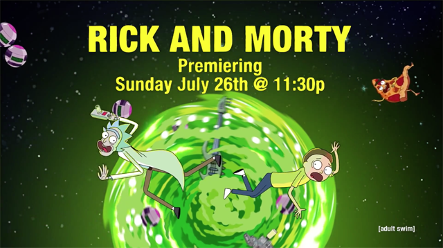 Rick and Morty is my favorite T V  show because its just so