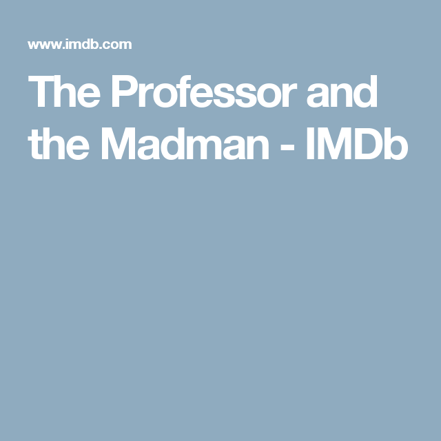 Watch The Professor and the Madman Full-Movie Streaming