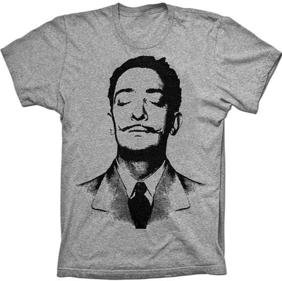 8711cea1bc67 Dali shirt for Michael | Gifts | Mens tee shirts, Dali, Creative t ...