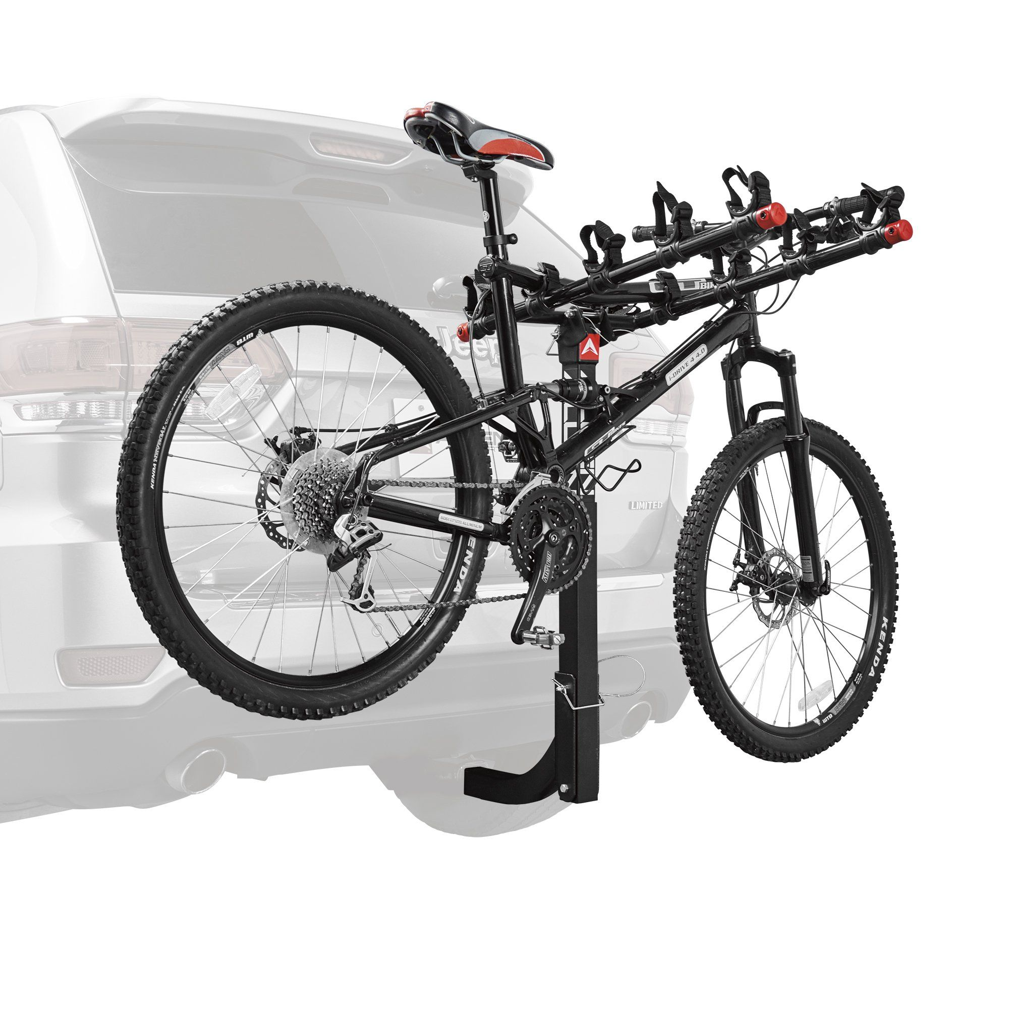 Allen Sports Deluxe 5Bicycle Hitch Mounted Bike Rack