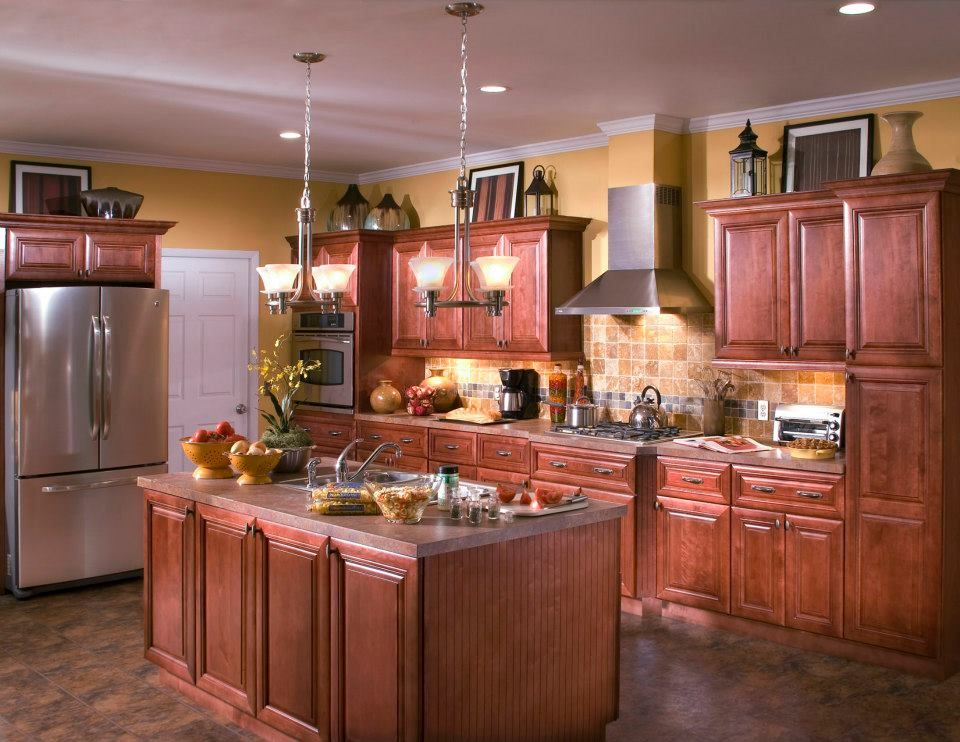 Beautiful cabinets in this custom kitchen. # ...
