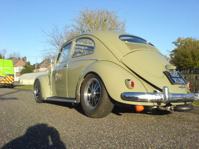Early 55 Oval With L313 Reed Green Paint
