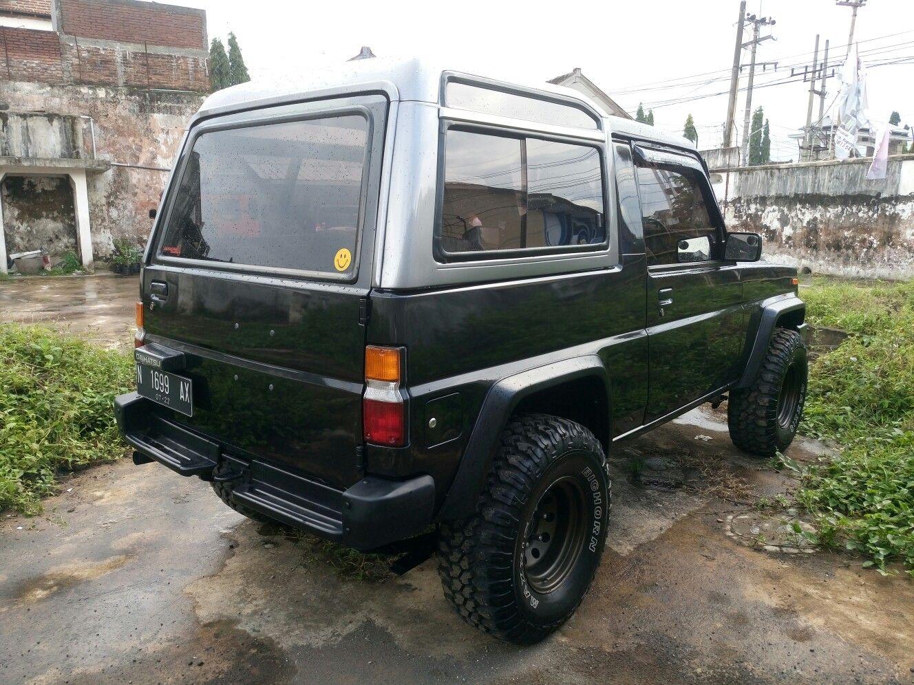 Daihatsu Rocky Rugger Fourtrak 4x4 4x4life Restoration