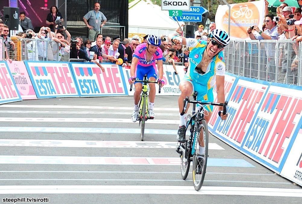 Paolo Tiralongo @ 2012 İtalya Bisiklet Turu 7. Etap