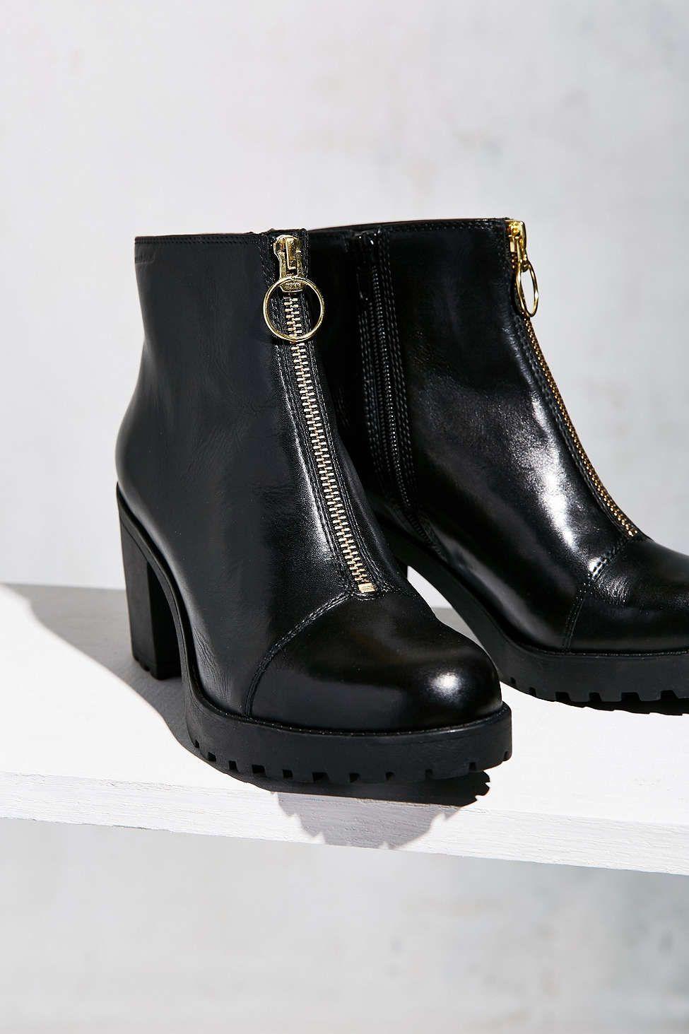 6d89ce0aeaac Vagabond Grace Front Zip Ankle Boot   Trend   Boots, Shoes, Vagabond ...