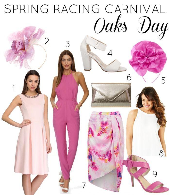Spring racing fashion dresses