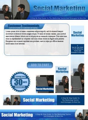 social marketing website template plr pack social marketing website