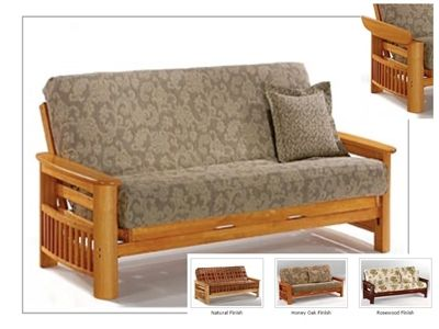 Full Size Portofino Futon Bed Package By Night Day In 2019