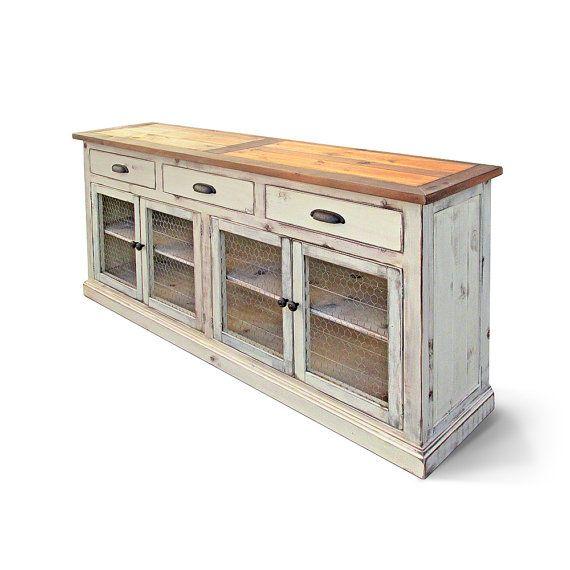 Sideboard, Buffet, Reclaimed Wood, Media Console, Server ...