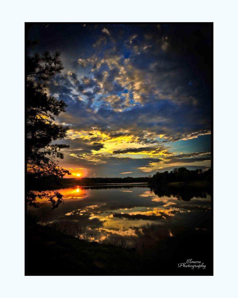 sunset lake 5 Benton Arkansas | Sunset Lake in Benton, Arkan… | Flickr