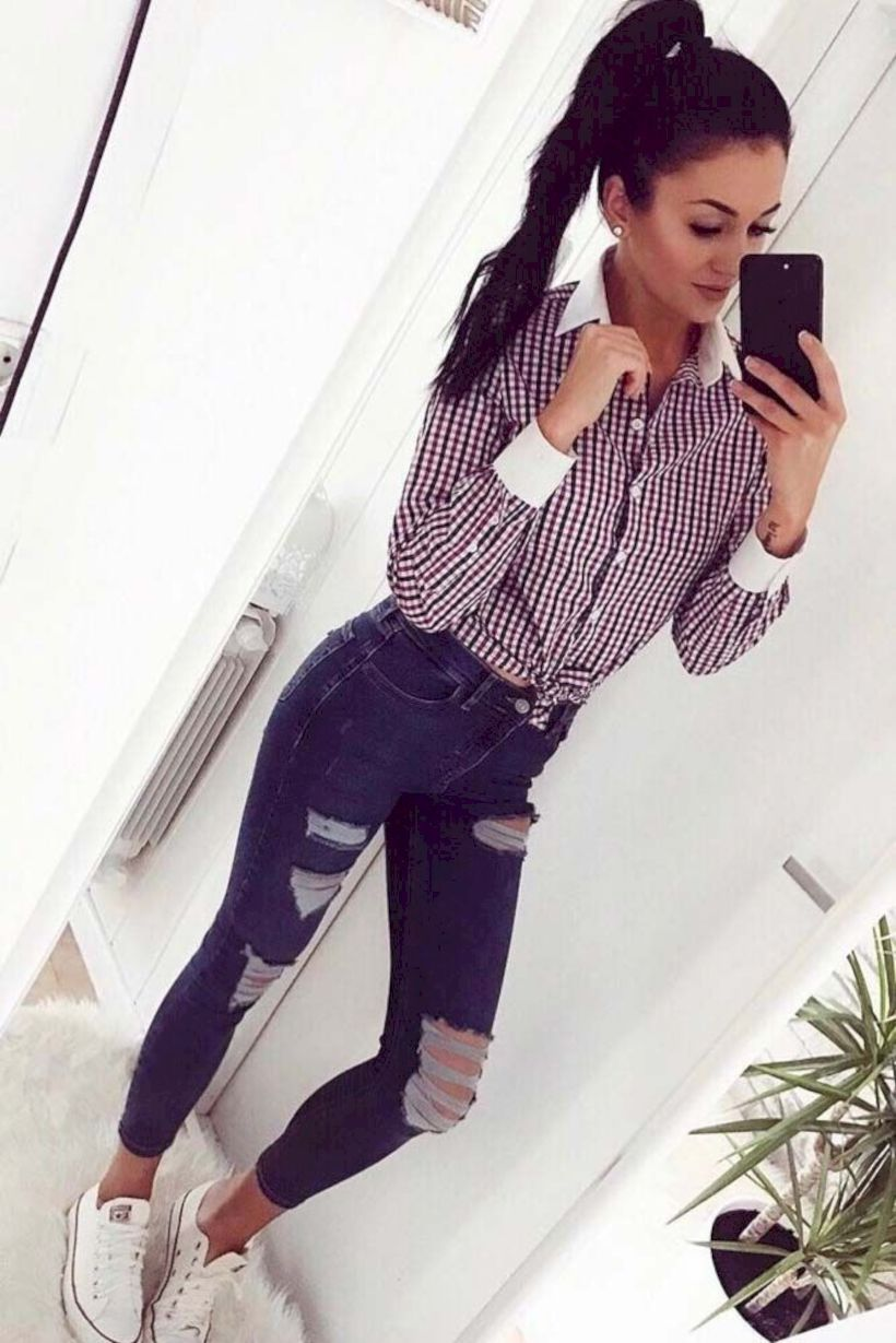 25144093e0 Breathtaking 41 Trendy Outfits for Women to Look Stylish   Fashion ...