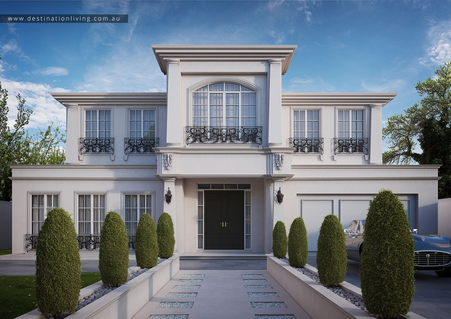 Destination Living Classic Architectural Homes French
