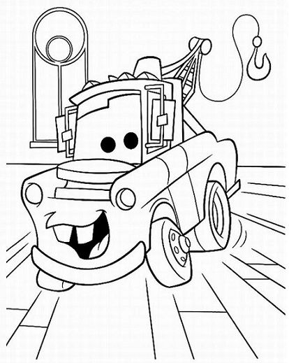 Free Disney Cars Coloring Pages | Coloring Book | Pinterest ...