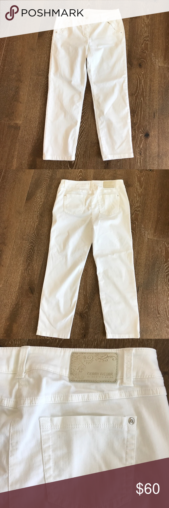 low priced 38f00 d70cd Gerry Weber White Jeans Gerry Weber Edition Roxy Perfect Fit ...