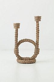 Anchor Bend Double Candle Holder