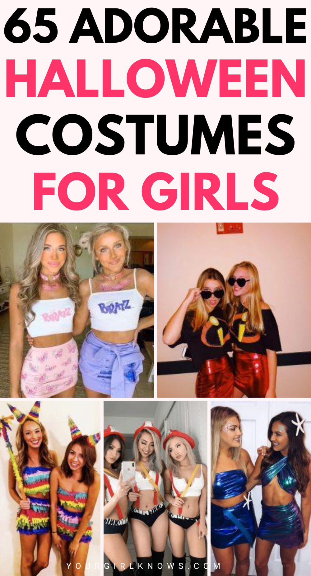65 ADORABLE College Halloween Costumes that are Pe
