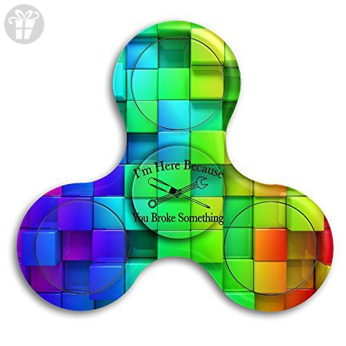 I Am Here Fid Toy Hand Spinner Camouflage Stress Reducer Relieve