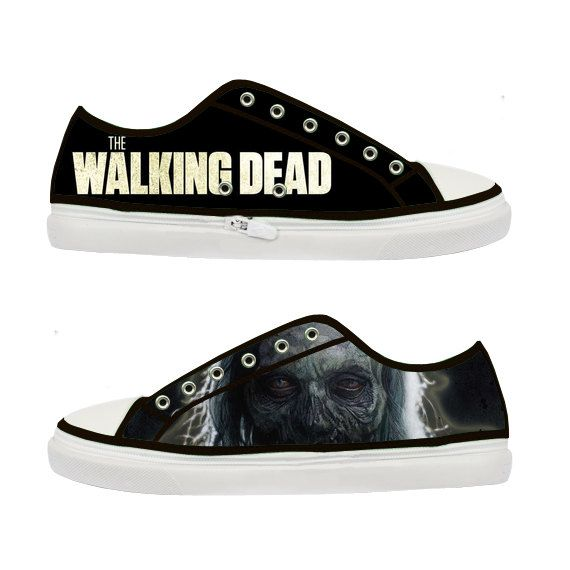 Dead The p Canvas A w Zombie Shoes ~niceay10 Women Walking ZaxZfq6pw