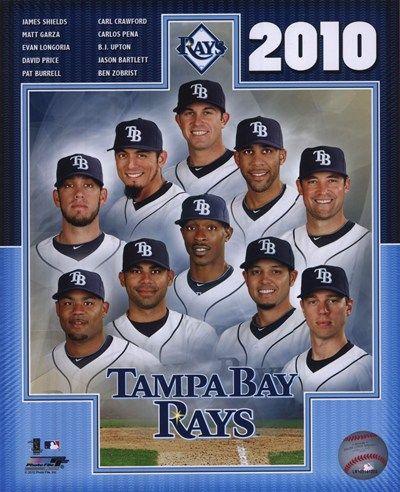 2010 Tampa Bay Rays Team Tampa Bay Rays Carlos Pena Seattle Mariners