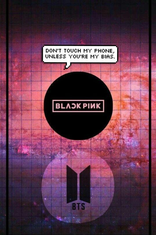 BLACKPINK x BTS locscreen ♥ | Meninos bts, Bts, Papeis de ...