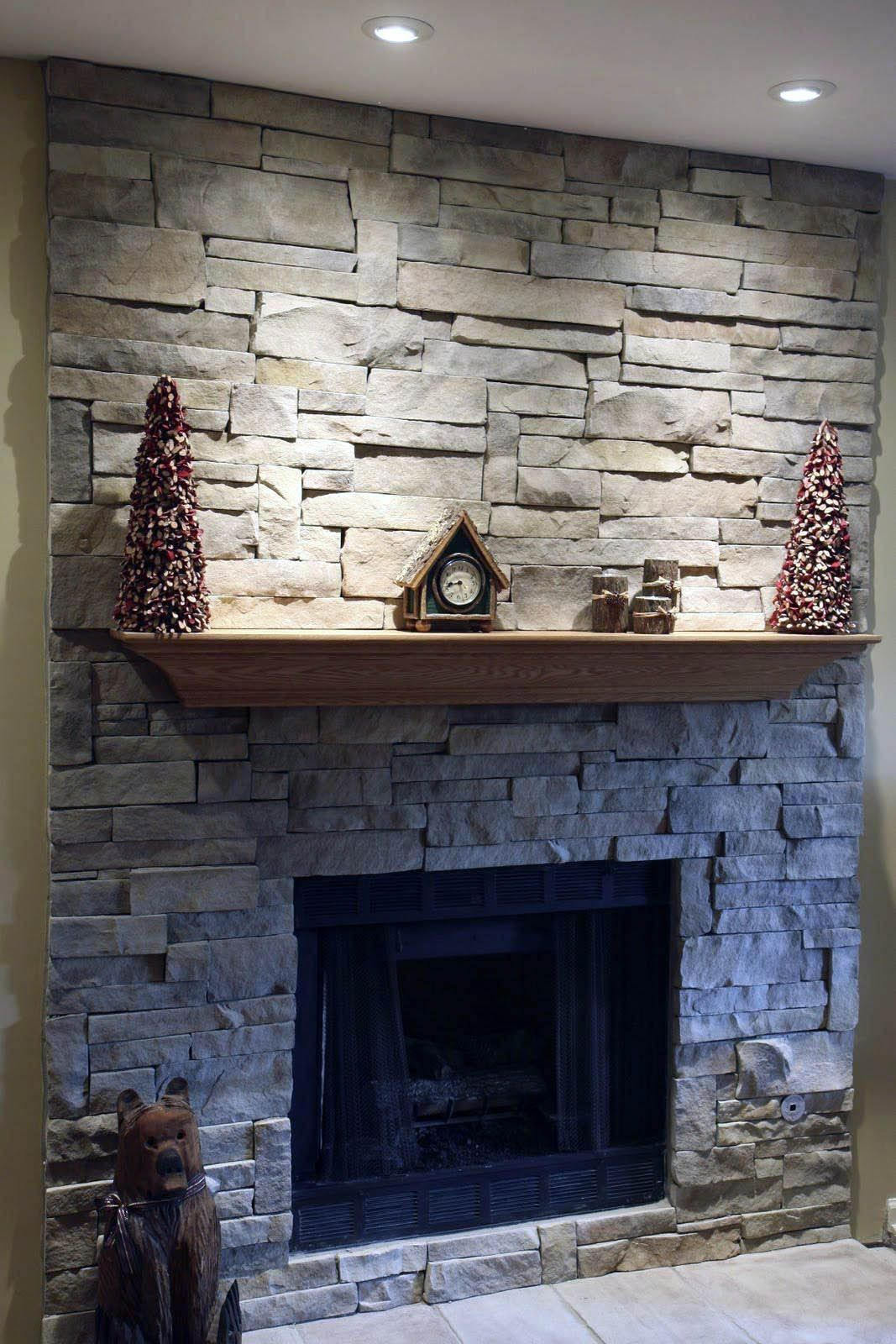 Pin By Casandra Ya Eckelman On Making Your Bricks On Fireplace Lighter Stone Veneer Fireplace Stacked Stone Fireplaces Stone Fireplace Wall