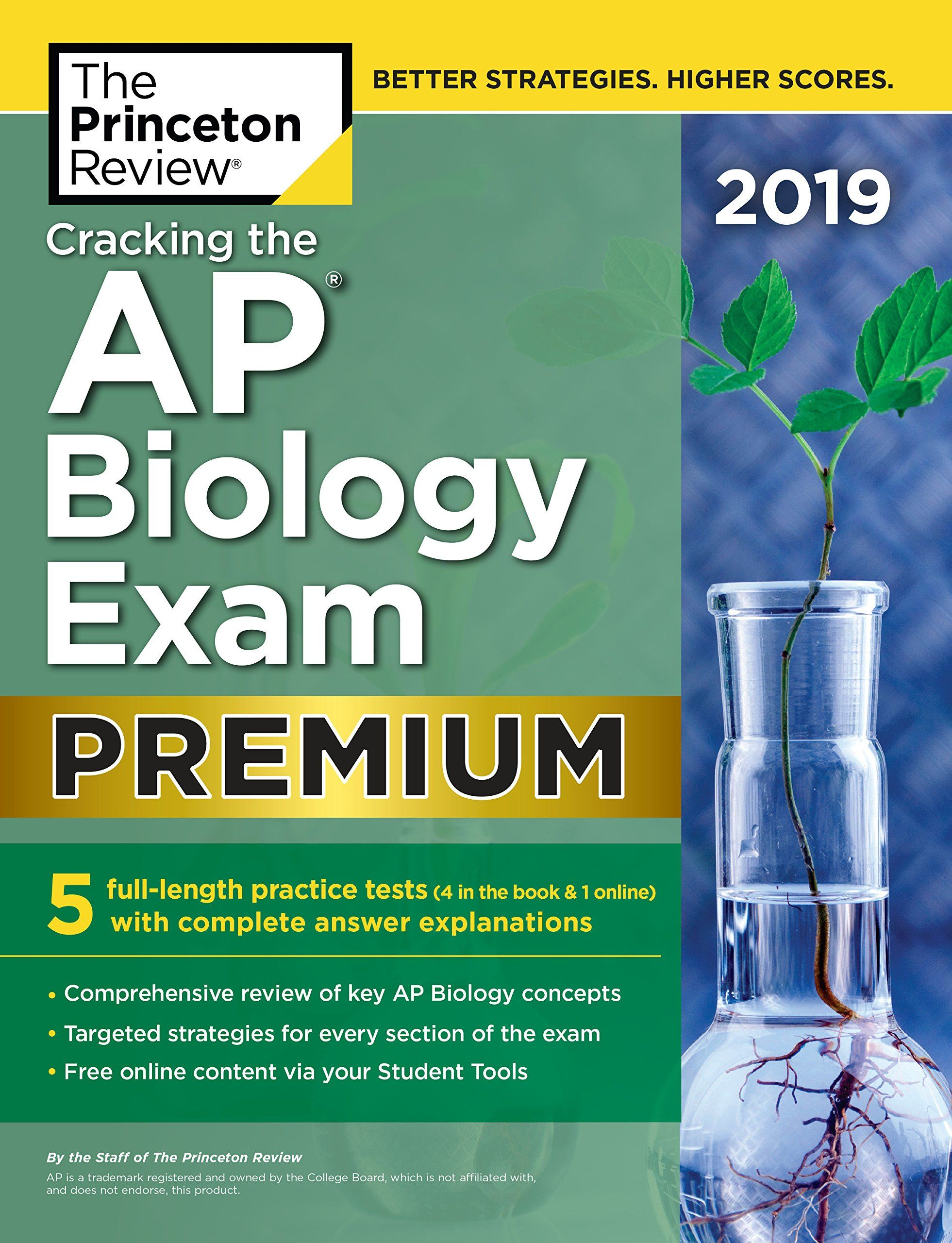 [Review Video] Cracking The Ap Biology Exam 2019, Premium Edition 5  Practice Tests + Complete Content Review (College Test Preparation) | Books  | Pinterest ...