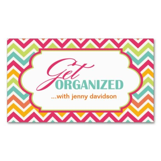 Professional organizer business cards make your own business card professional organizer business cards make your own business card with this great design all reheart Images