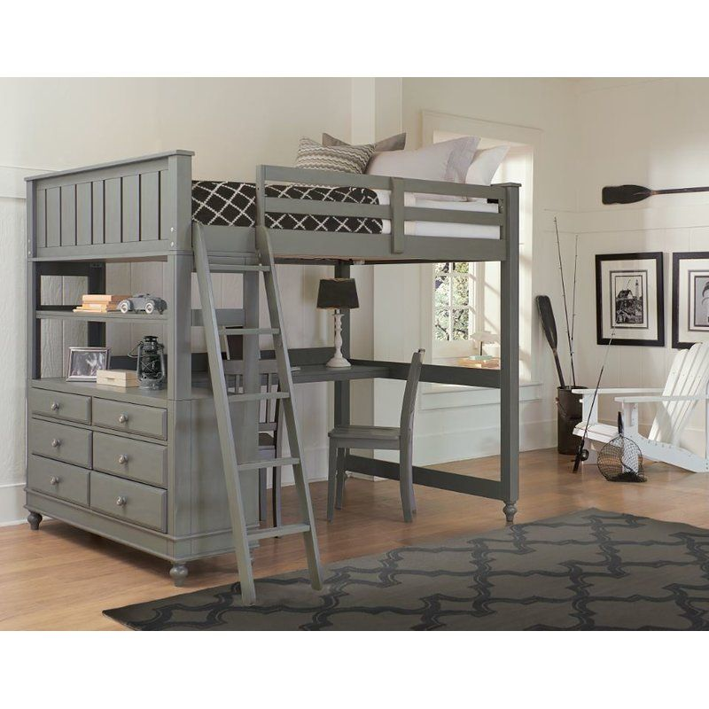 Best Hatcher Loft Bed Reviews Birch Lane Kids Loft Beds 400 x 300