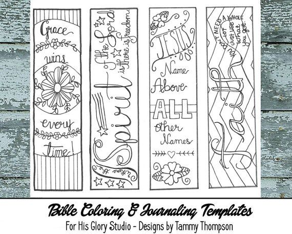 picture relating to Free Printable Bible Bookmarks to Color named Pin upon Items