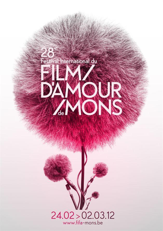 Unique Graphic Design, Film d'Amour de Mons #Graphic #Design (http://www.pinterest.com/aldenchong/)