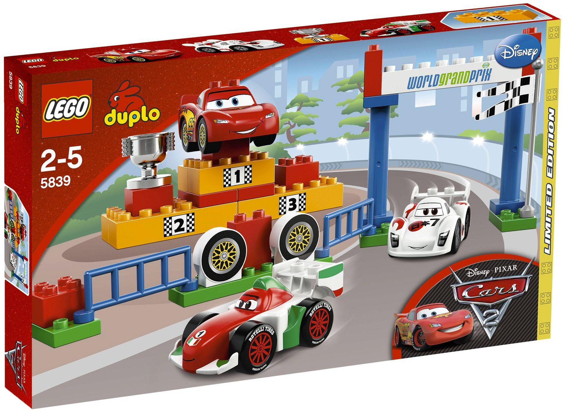 LEGO Duplo 5839 pas cher, Le Grand Prix Idées lego, Lego