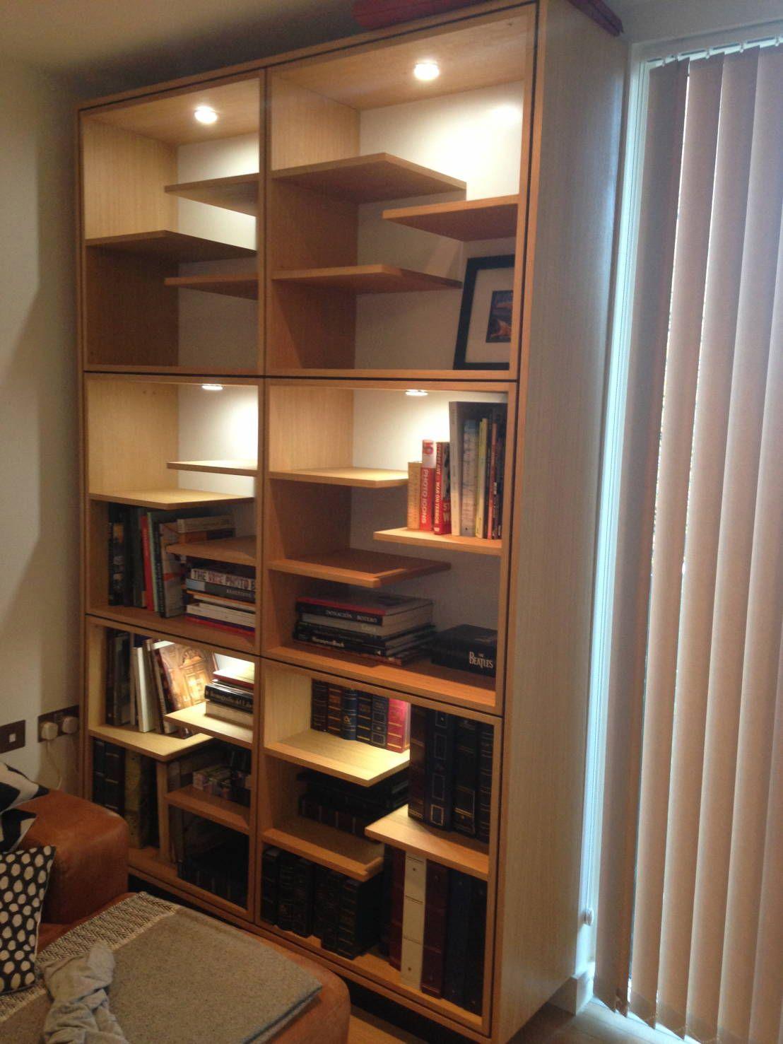 Great Ideas For Indirect Lighting Bookshelf Lighting Bookcase Eclectic Decor Modern