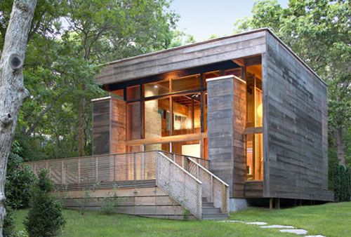 Maison cube en bois maison de r ve pinterest cubes chalets et cabane for Photo maison contemporaine container