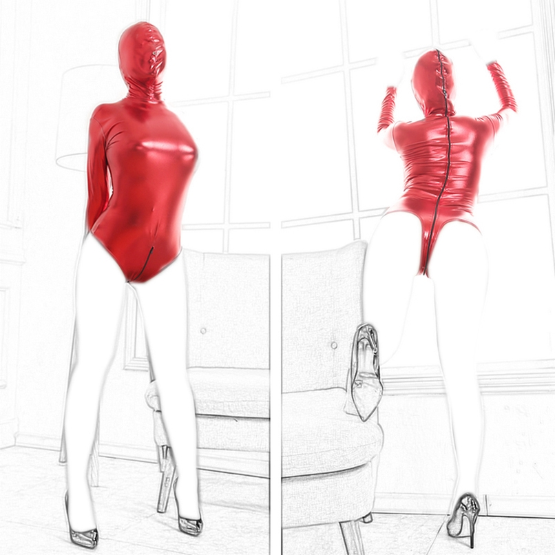 17.51$  Buy here - http://aliutu.shopchina.info/go.php?t=32720692566 - Red BDSM Bondage Restraints Erotic Lingerie Head Hood Mask Sexy Costumes Straitjacket with Blindfold Fetish Sex Toys Adult Game  #magazineonlinebeautiful