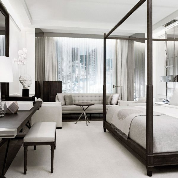 Interior Design Images For Bedrooms Prepossessing First Look At The Much Anticipated Baccarat Hotel In New York Design Decoration