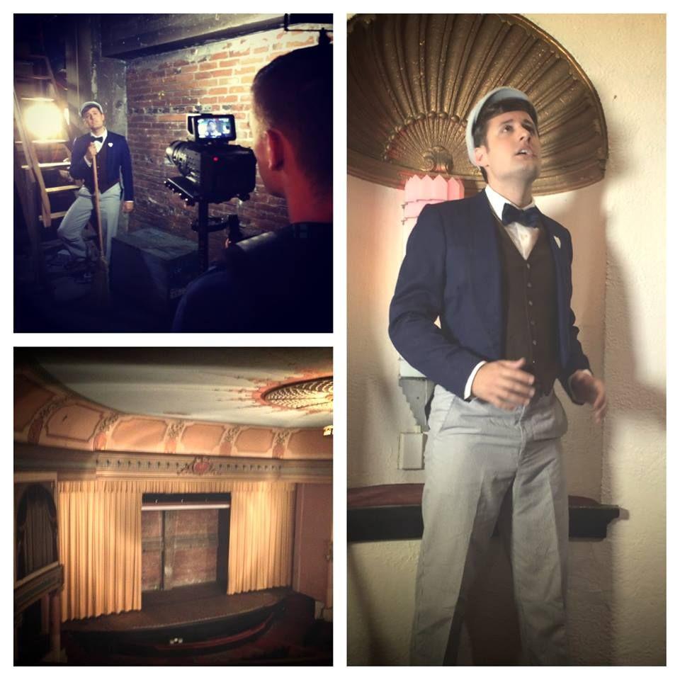 Behind the scenes - filming Stairwells