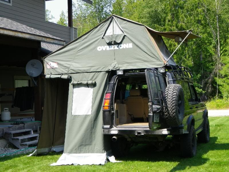 A view more shots of the AutoHome OverZone Roof Top Tent & A view more shots of the AutoHome OverZone Roof Top Tent ...