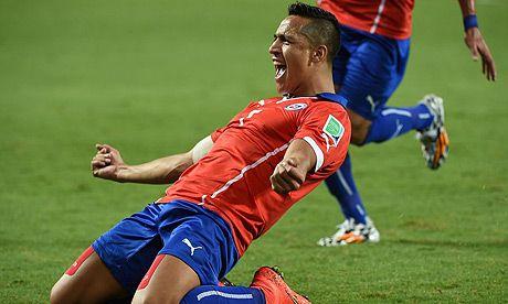 Brasil 2014 – Chile vs Australia Photos   Football Wallpapers