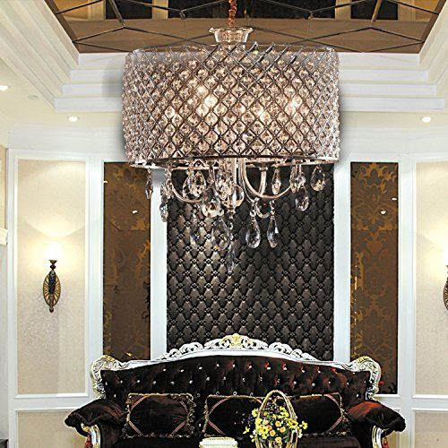 Contemporary Minimalist Fashionable Crystal Chandelier With 3 Lights Pendant Dining Room Light In Square Feature BUY NOW A Lux