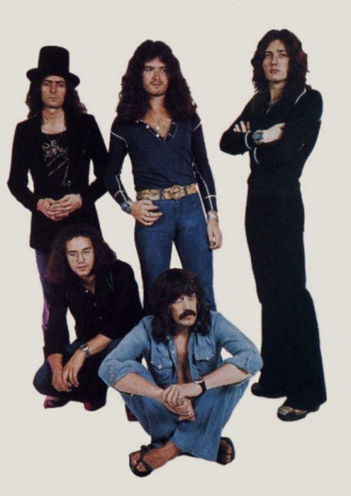 Deep Purple Mk Iv Ian Paice Glenn Hughes David Coverdale Tommy Bolin Jon Lord Deep Purple Rock N Roll Music Best Rock Bands