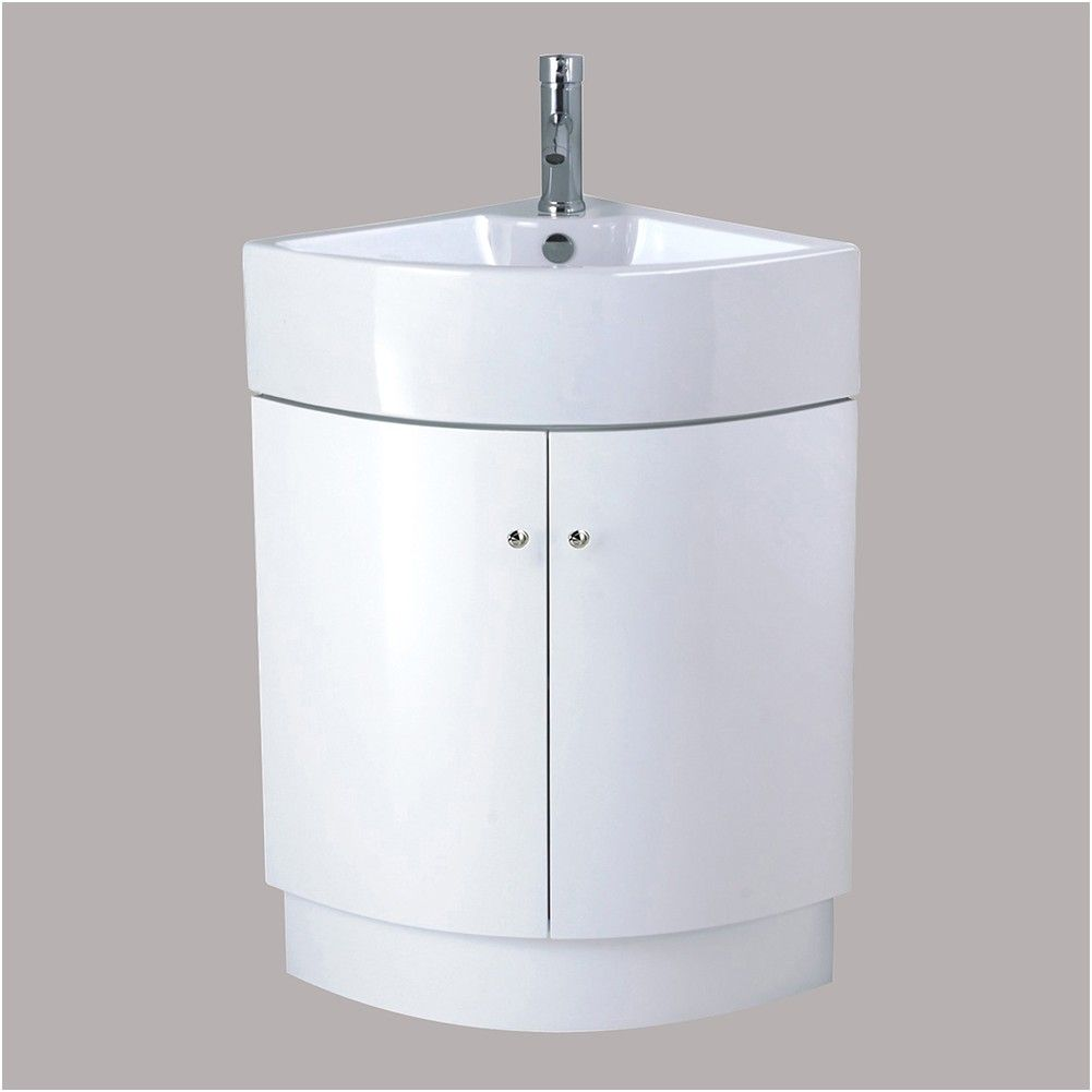 Bathroom Corner Vanity Unit Sink Basin Ceramic Floor from Floor ...