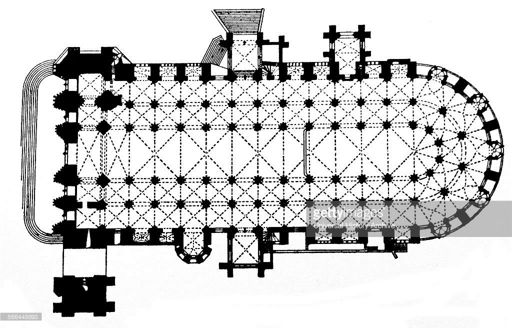 Bourges Cathedral Floor Plan Bourges Cathedral Is A Roman Catholic Gothic Church Gothic Architecture Bourges