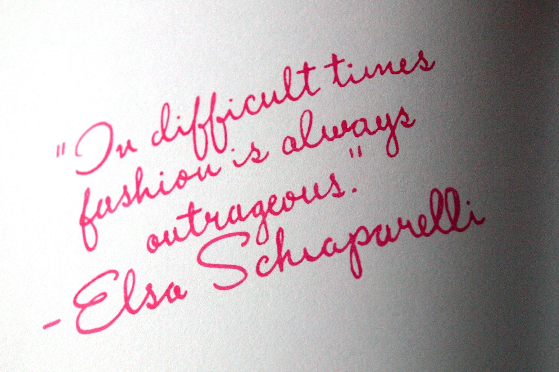 Elsa Schiaparelli Words Pinterest Elsa Schiaparelli Vintage