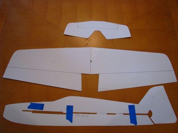 Foam RC Airplane | Rc plane plans, Radio controlled ...