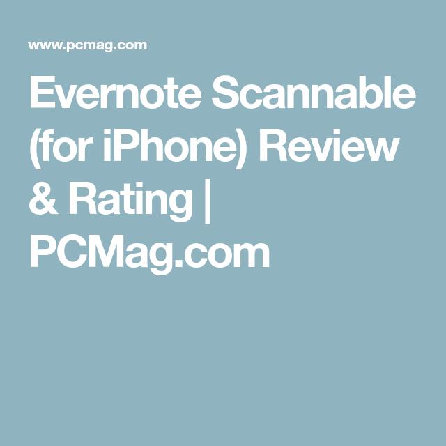 Evernote Scannable For Iphone Nurse Tech Class Ideas