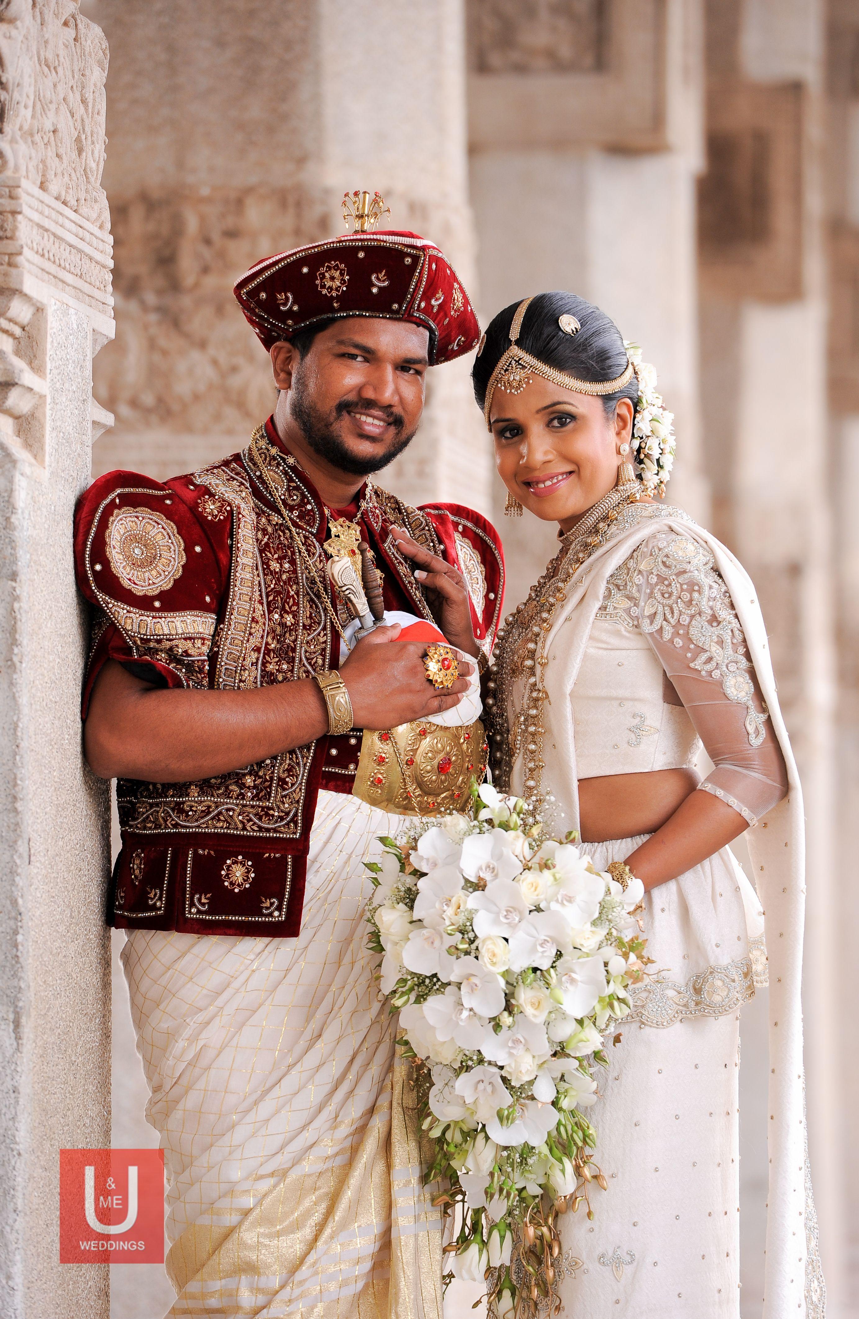 Sri Lankan Kandyan Groom And Bride Sri Lankan Bridal Wear