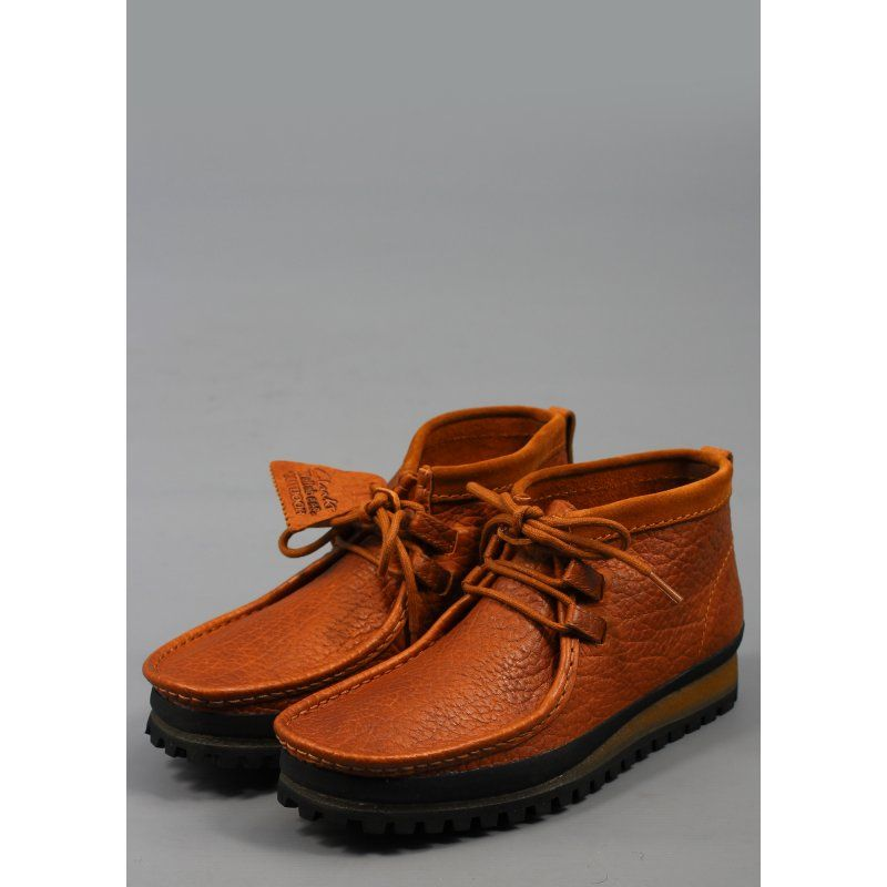 b865cebcc31851 Clarks Wallabees in smooth leather - love. Wallabee Low Shoe Cognac