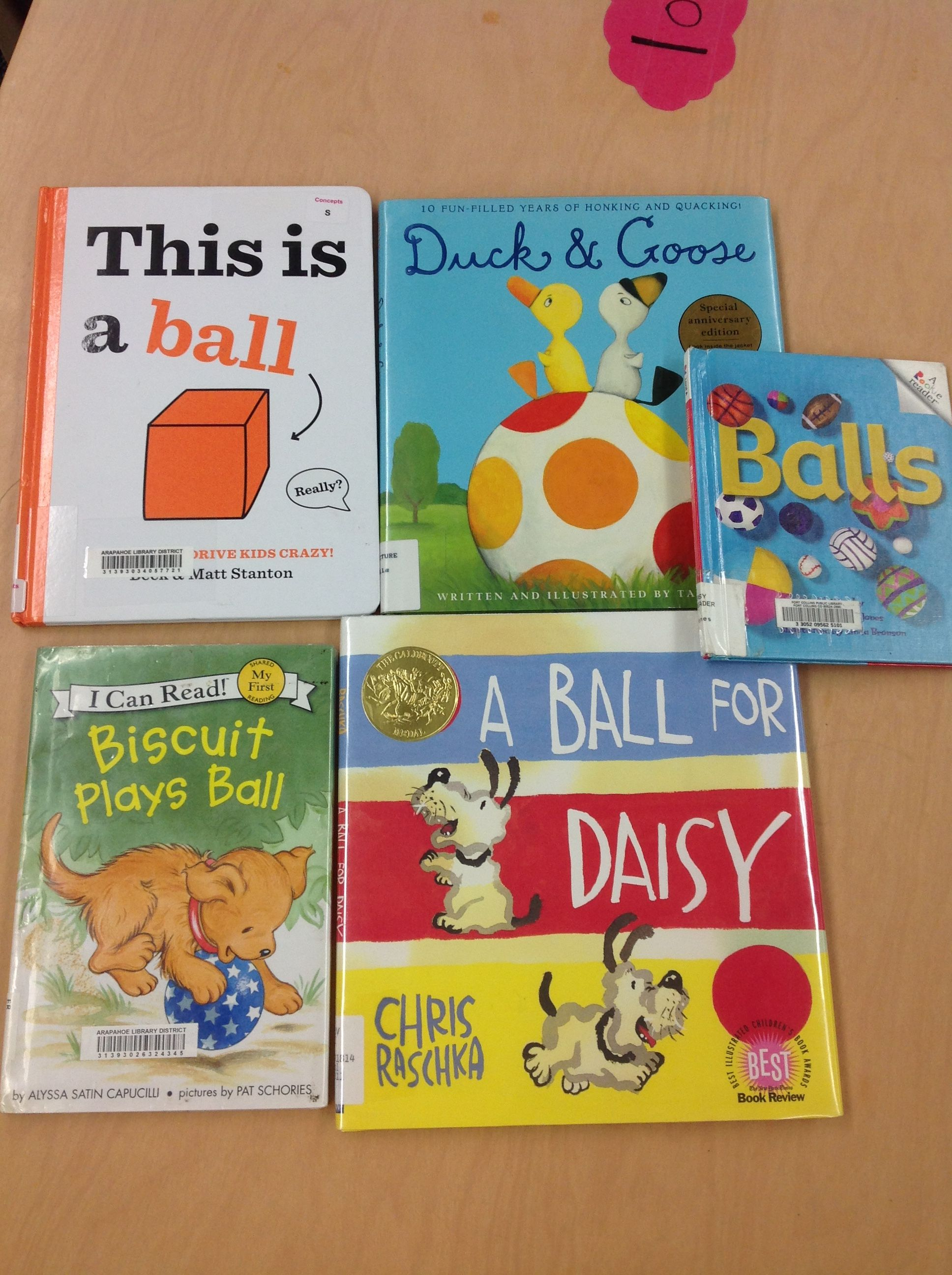 Great Preschool Books About Balls With Images Creative