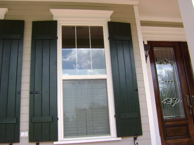 Exterior Shutters | Working Exterior Shutters   Building A Home Forum    GardenWeb