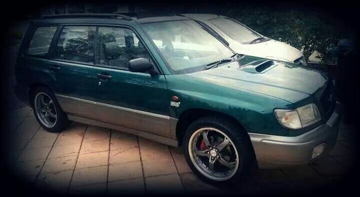 My 99 Subaru Forester GT Turbo STI MODS